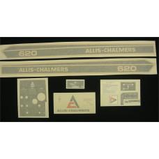 Allis Chalmers 620 Vinyl Cut Decal Set (GAC318S )
