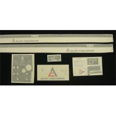 Allis Chalmers 720 Vinyl Cut Decal Set (GAC319S )