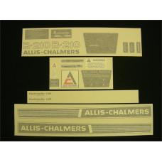Allis Chalmers B-210 Vinyl Cut Decal Set (GAC311S )