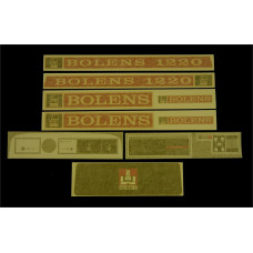 Bolens 1220 Vinyl Cut Decal Set (GBO319S )