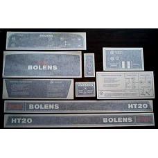 Bolens HT20 Vinyl Cut Decal Set (GBO311S )