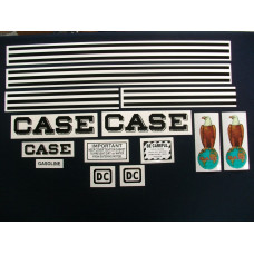 Case DC Mylar Cut Decal Set