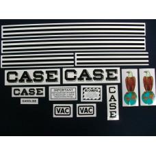 Case VAC Mylar Cut Decal Set