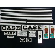 Case VA Mylar Cut Decal Set