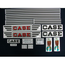 Case SO Mylar Cut Decal Set