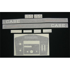 Case 155 (dash included) Vinyl Cut Decal Set (GC306S )