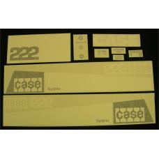 Case 222 Vinyl Cut Decal Set (GC336S )