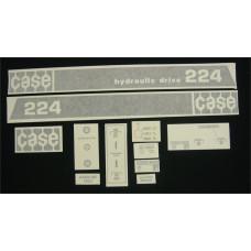 Case 224 Vinyl Cut Decal Set (GC314S )