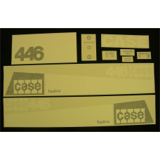 Case 446 Vinyl Cut Decal Set (GC339S )