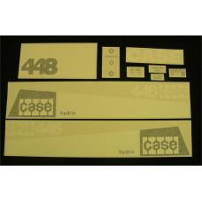 Case 448 Vinyl Cut Decal Set (GC340S )