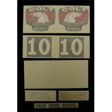 Colt Deluxe (1964 & 1965) Vinyl Cut Decal Set (GC346S )