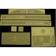 International Harvester Cub Cadet 126 Vinyl Cut Decal Set (GCC343S )