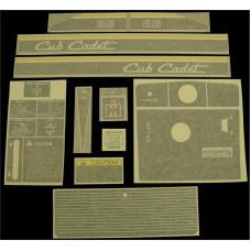 International Harvester Cub Cadet 86 Vinyl Cut Decal Set (GCC314S )