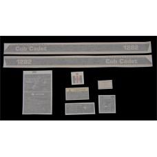 International Harvester Cub Cadet 1282 Vinyl Cut Decal Set (GCC358S )