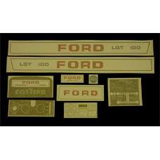 Ford LGT 100 manual Vinyl Cut Decal Set (GF321S )