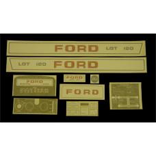 Ford LGT 120 manual Vinyl Cut Decal Set (GF323S )