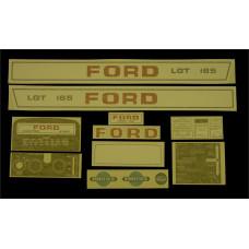 Ford LGT 165 Vinyl Cut Decal Set (GF327S )