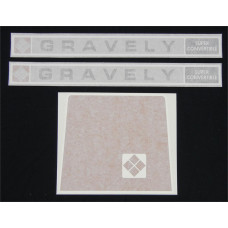 Gravely Super Convertible Vinyl Cut Decal Set (GG301S )
