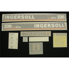 Ingersoll 226 hydriv Vinyl Cut Decal Set (GI304S )
