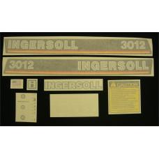 Ingersoll 3012 Vinyl Cut Decal Set (GI310S )