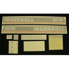 Ingersoll 3016 Vinyl Cut Decal Set (GI312S )