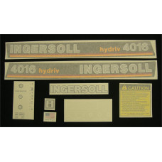 Ingersoll 4016 hydriv Vinyl Cut Decal Set (GI322S )