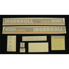Ingersoll 4020 hydriv Vinyl Cut Decal Set (GI324S )