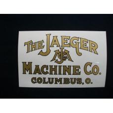 Jaeger Engine The Jaeger Mylar Cut Decals (JA100)