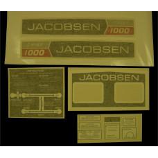 Jacobsen Chief 1000 Vinyl Cut Decal Set (GJ307S )