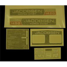 Jacobsen Super Chief 1450 Hydro Vinyl Cut Decal Set (GJ302S )