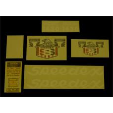 Speedex 1430 Vinyl Cut Decal Set (GSP302S )