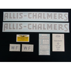 Allis Chalmers WF after 1940 Vinyl Cut Decal Set