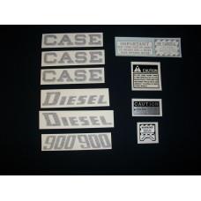 Case 900 diesel Vinyl Cut Decal Set