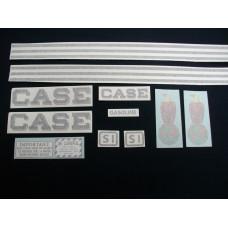 Case SI Mylar Cut Decal Set