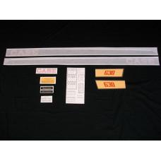 Case 630 gas Vinyl Cut Decal Set