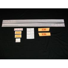 Case 630 Tripl-Range Vinyl Cut Decal Set