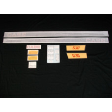 Case 630 Tripi-Range diesel Vinyl Cut Decal Set