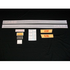 Case 630 Case-o-matic Vinyl Cut Decal Set