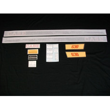 Case 630 Case-o-matic diesel Vinyl Cut Decal Set