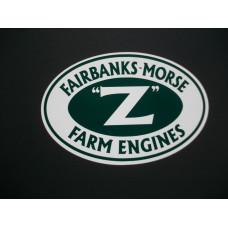 Fairbanks Morse Engine Fairbanks Morse Z Farm Engine 4 inch Vinyl Cut Decals (VFM2273)