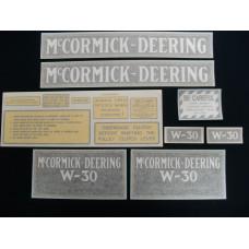 Farmall W-30 Vinyl Cut Decal Set (VI109)