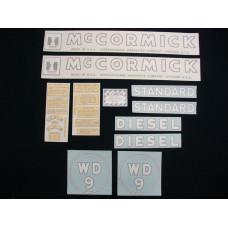 Farmall WD-9 Vinyl Cut Decal Set (VI144)