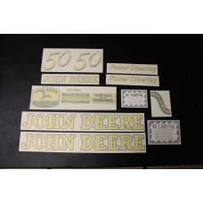 John Deere 50 Mylar Cut Decal Set (JD138)