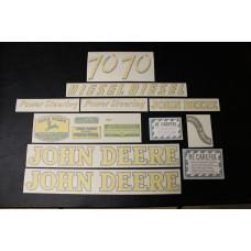 John Deere 70 diesel Mylar Cut Decal Set (JD141)