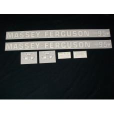 Massey Ferguson 95 Vinyl Cut Decal Set (VMF109)
