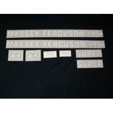 Massey Ferguson 95 Super Vinyl Cut Decal Set (VMF110)