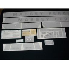 Massey Ferguson 1100/1130 Diesel Vinyl Cut Decal Set (VMF138)