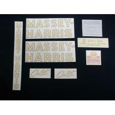 Massey Harris Colt Vinyl Cut Decal Set