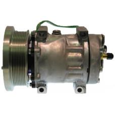 Caterpillar 143H Motor Grader Sanden Compressor with Serpentine Clutch - New | 881630872