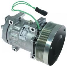 Caterpillar 990H Wheel Loader Sanden Compressor with Serpentine Clutch - New